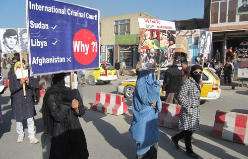 Kabul Demonstration