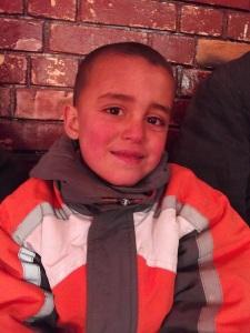 Street kid Abi, aged 5