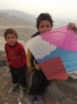 boy and kites