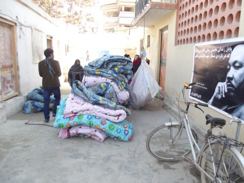 The Duvet project at the APV compound