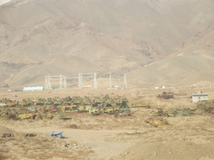 On the road from Kabul to Bagram