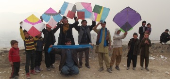 Afghan Peace Volunteers say: Fly Kites Not Drones