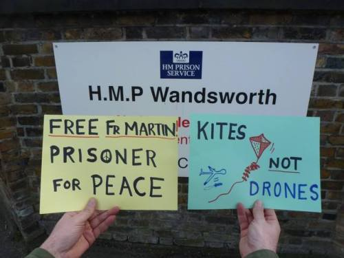 Fr Martin Newell in HMP Wandsworth