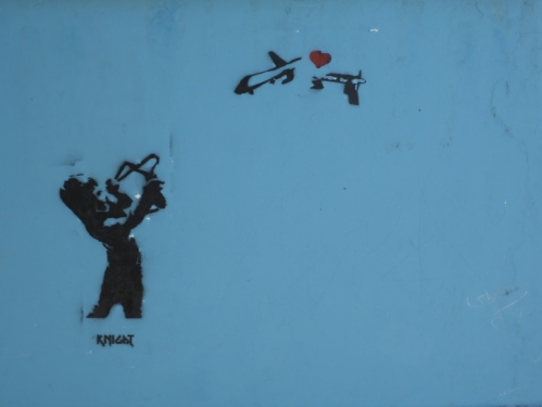 Love will end drone attacks